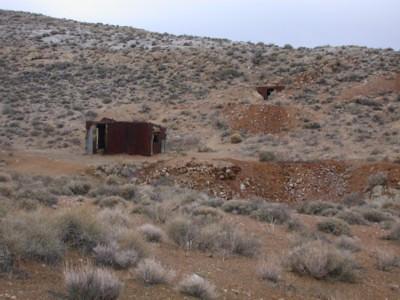 Chloride City ruins