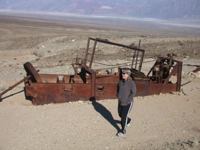 Rusty equipment.