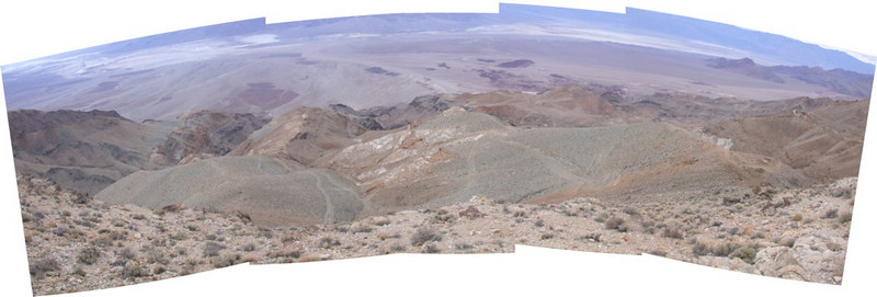 Chloride Cliff Panorama