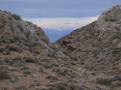 More of the Sierra peaks