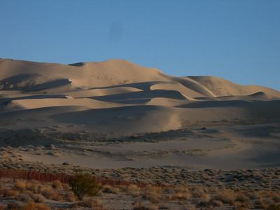 Dunes before sunset
