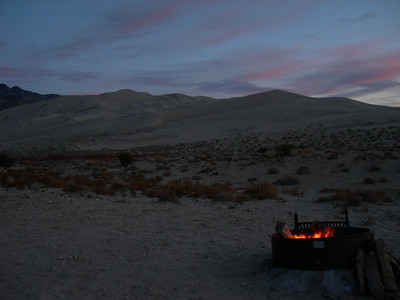 Eureka Dunes sunset