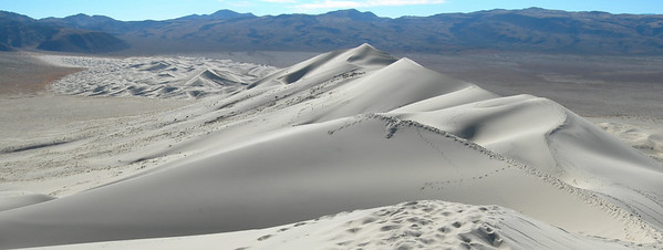 View of the dunes looking south