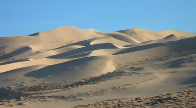 Dunes in the late afternoon