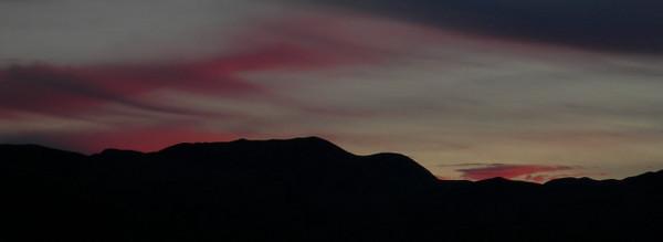 Eureka Dunes sunset