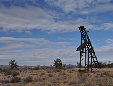 Headframe at Hart