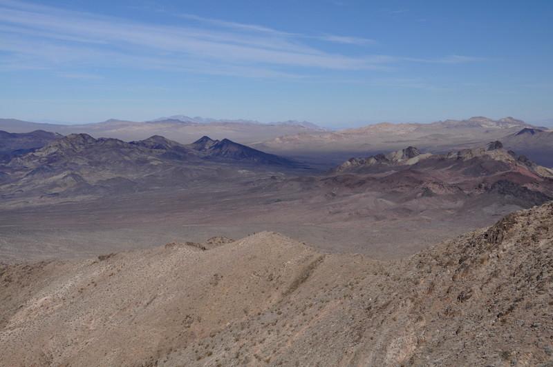 Calico hills and Sheephead Peak