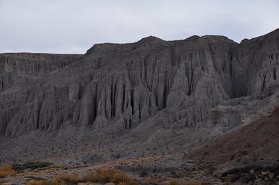 Mud walls in Afton Canyon