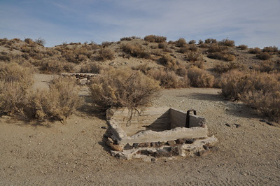 An old well along a 4x4 road near Black Canyon. Water in the bottom, about 20 feet down.