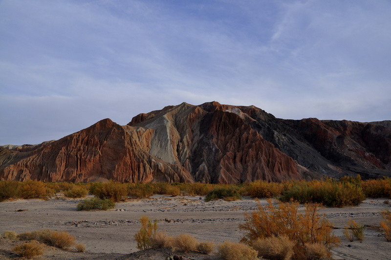 Colors and the sandy canyon