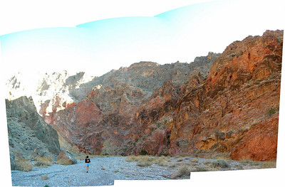 Entrance to Red Wall Canyon