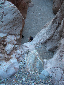 The dry fall in the first narrows (and me)
