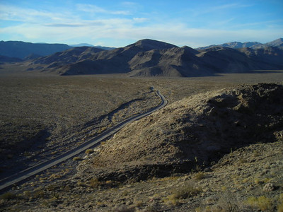 Lost Burro Gap  Toward teakettle junction. The roads were pretty nice while we were out there - the graders had just come through.