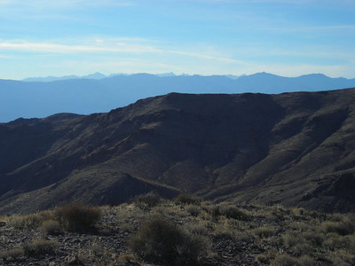 That's the Sierra in the distance.