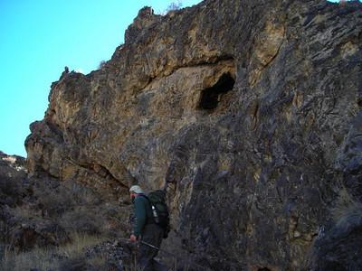 Rock in Perdido Canyon
