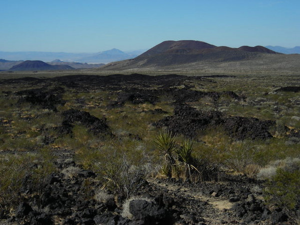 Lava Field and cinder cone