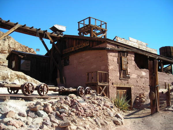 Calico Mine<br /> <br /> The mine was called the Maggie Mine, obviously named after my sister.