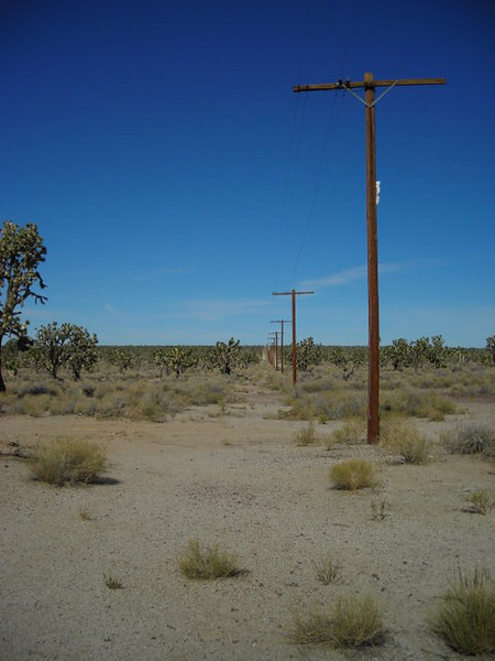 "Mojave Phone Booth<br /> <br /> The site of the Mojave Phone Booth, gone but not forgotten.For the story of the phone booth, go to <a href=""http://deuceofclubs.com/moj/"">http://deuceofclubs.com/moj/</a>"