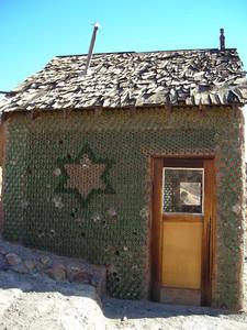 Glass Bottle house.