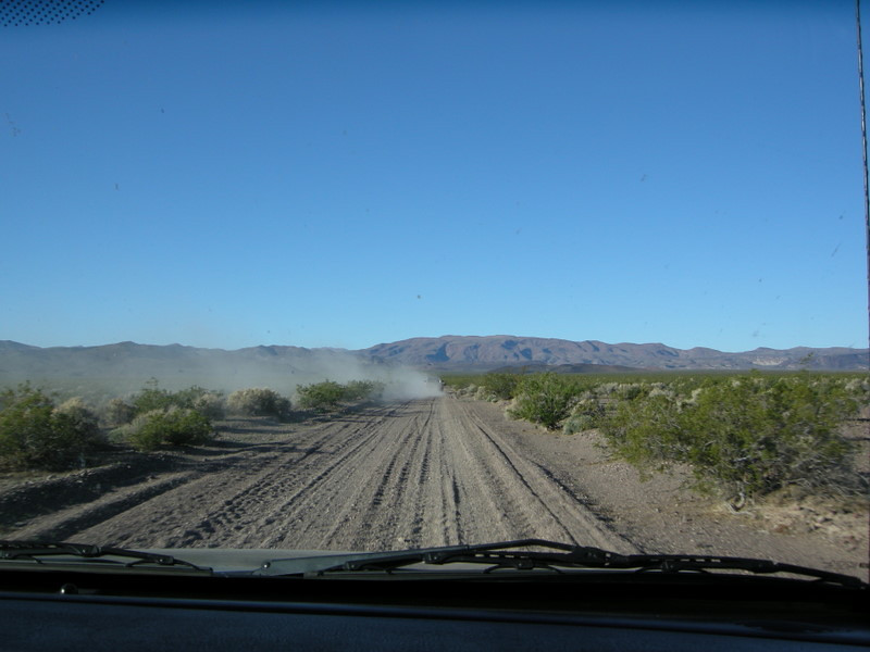 Driving to a mystery location<br /> <br /> We're on a hunt for an amazing pictograph site today
