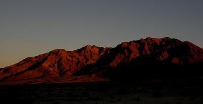 Sunrise over Pyramid Peak