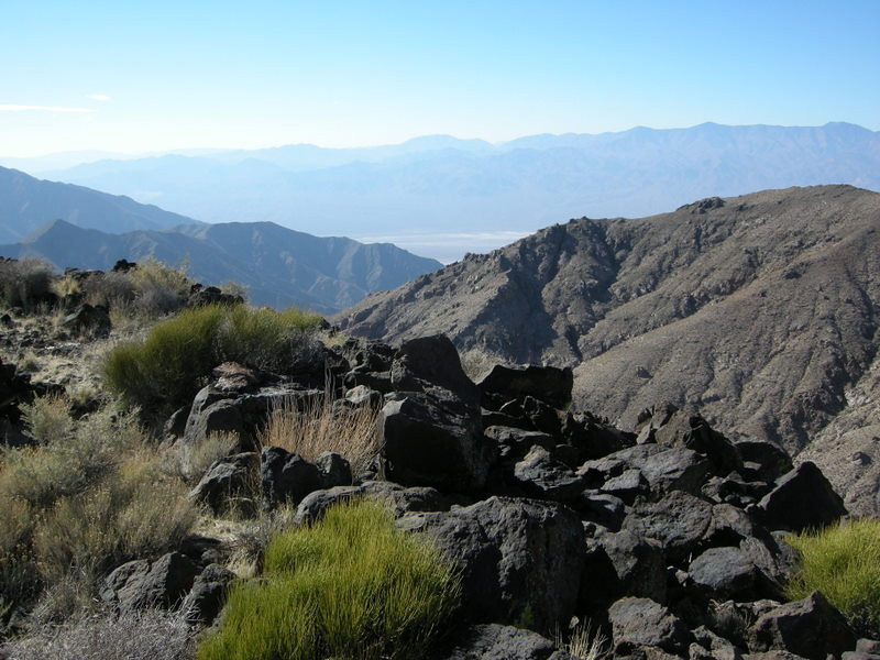 Death Valley and the Panamints in the distance