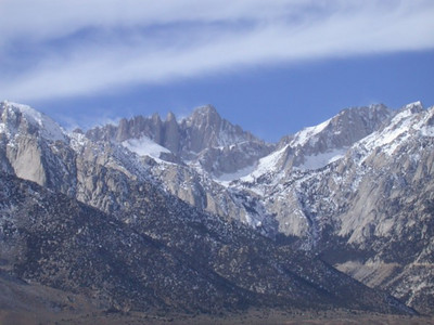 Mt Whitney on Thanksgiving