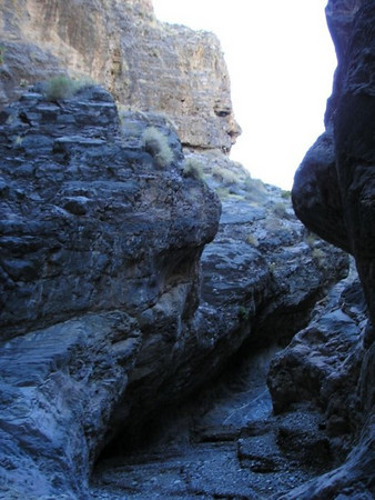 Narrows of marble canyon side canyon