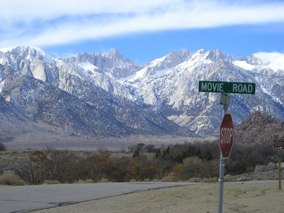 Mt Whitney and Movie Road