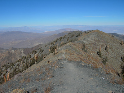 The windy and exposed trail.