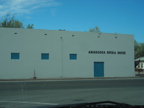 The Amargosa Opera House. In the middle of nowhere.