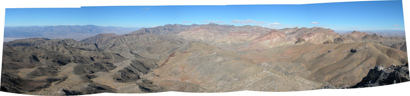 Death Valley Panorama from Thimble Peak