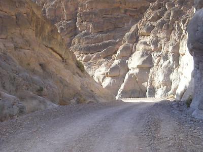 Titus Canyon narrows