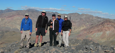Group summit photo - Joe, John, Bex, Dave, Sooz