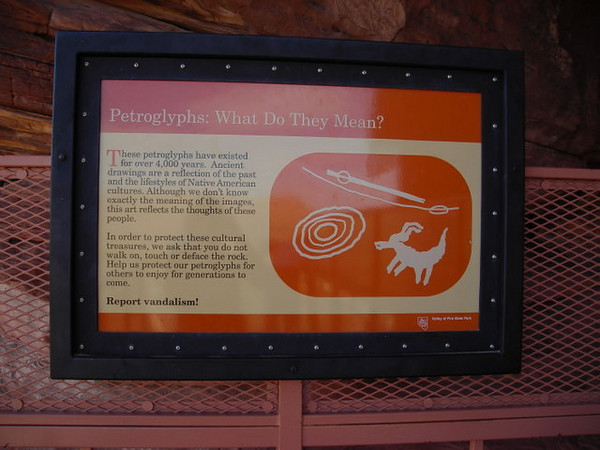 Valley of Fire has some amazing petroglyphs.