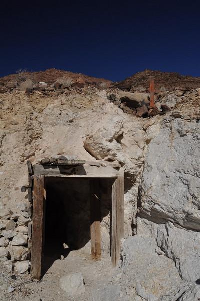 Talc Mine and claim post