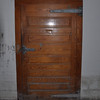 There are many buildings at Warm springs - this is the door to the old fridge/pantry in the dining hall.