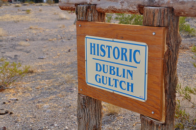 Dublin Gulch. I would have liked to learn more about this site, but since it was Thanksgiving the little museum was closed.