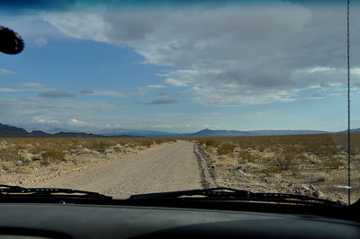 Saw a lot of dirt road this week!