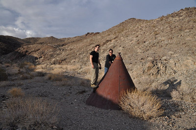 Dave and Chip investigate the alien spacecraft that crashed near the cabin.