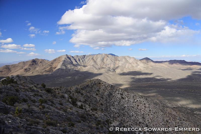 Desert sky and peaks - a favorite