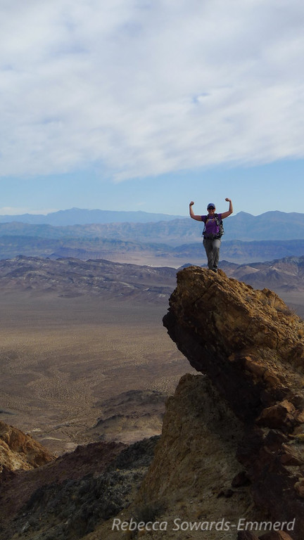 Me on the 'power rock'
