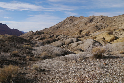 The hike started off through some nice rolling hills and canyons.