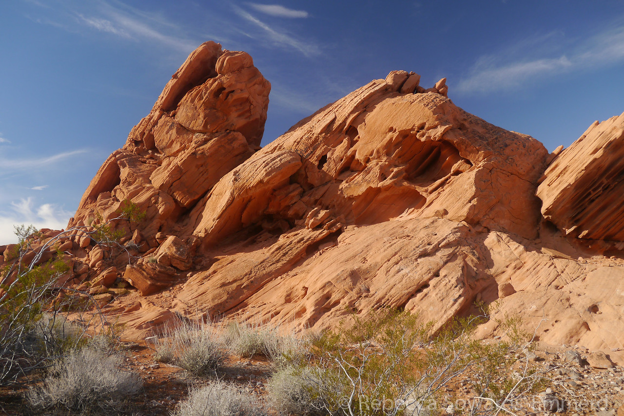 Red rocks in Pinto Valley