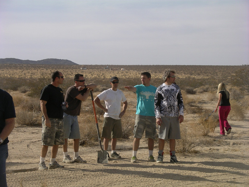 How many desert rats does it take to get an RV out of the sand?