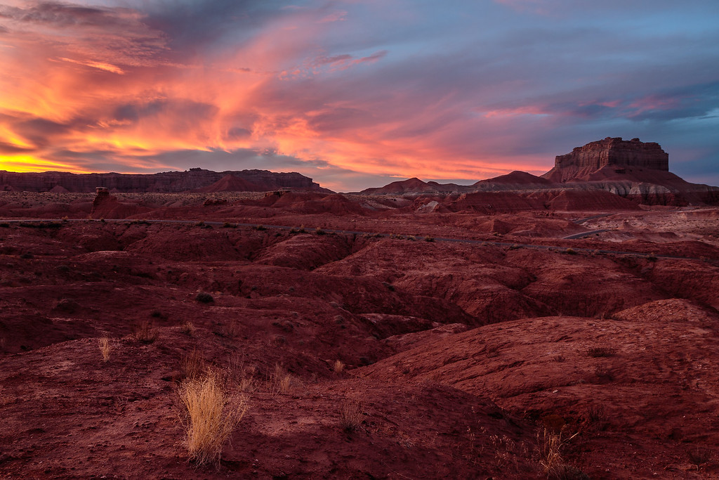 Near Goblin Valley, Utah