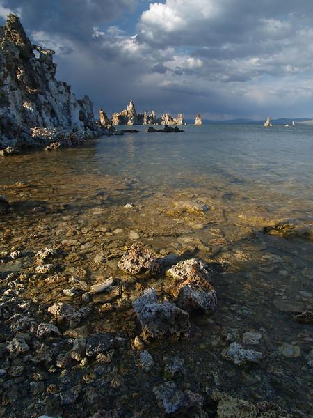 Shoreline at Mono Lake