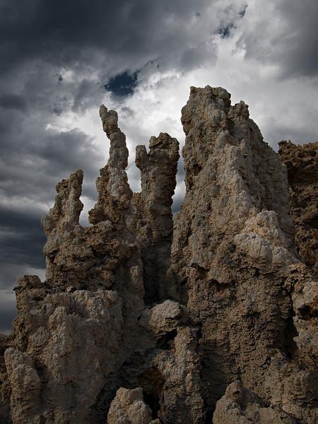Mono Lake Limestone Formations