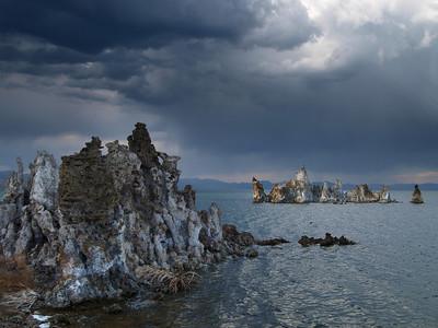 Storm at Mono Lake