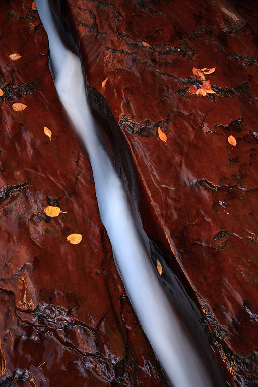 """- A Crack in Time -<br /> <br /> The """"Crack"""" at Zion National Park"""
